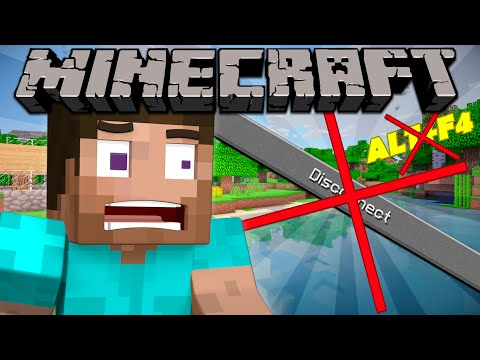 If You Couldn't Log Out - Minecraft