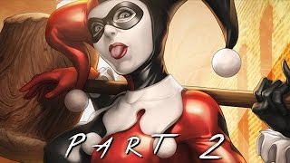 BATMAN RETURN TO ARKHAM (Arkham Asylum) Walkthrough Gameplay Part 2 - Harley Quinn (PS4 Pro)