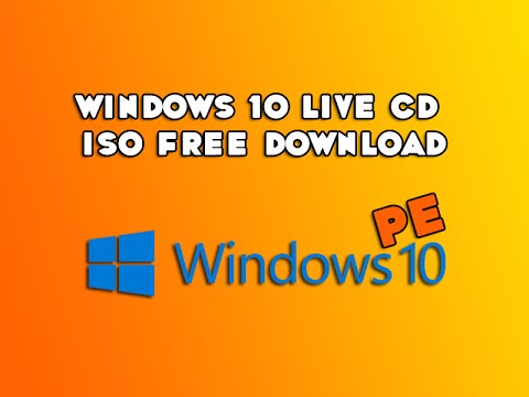 Windows 10 Live CD ISO Free Download