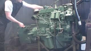 motor Mercedes Benz OH 1622 en marcha