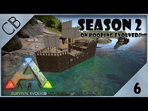 ARK: Survival Evolved - From Raft to Pirate Ship! - S2Ep6