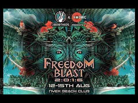 Dark psytrance Ananda World People Production Ananda Freedom Blast Goa 2016
