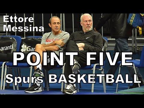 Ettore Messina: (.5) POINT FIVE -Spurs Basketball- Subtitulado