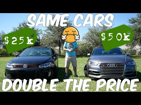 Is the Audi A3/S3 just a $50,000 Volkswagen Jetta? Is the Audi Worth it?