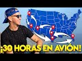 8 AEROPUERTOS Y 9 VUELOS EN 7 DIAS - De Costa a Costa por USA - Oscar Alejandro