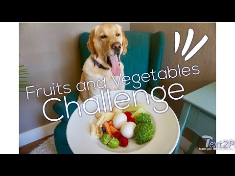 Fruits and Vegetables CHALLENGE