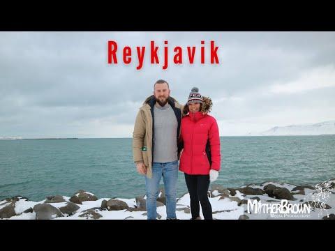 Reykjavik Iceland Snow Storm