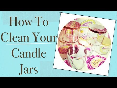 How To Clean Your Candle Jars | HomeSpaGoddess.com