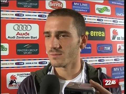 TG 22.10.09 Calcio Bari, su Bonucci gli occhi delle big