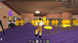 SpongeBob Goofy Goober Rock Music Video (In Game On ROBLOX)