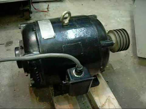 Century Electric Repulsion Start Induction Motor  YouTube