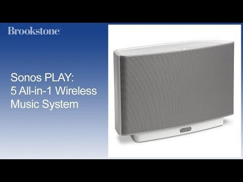 Sos PLAY:5 Allin1 Wireless Music System