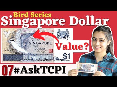 1 Dollar Value Singapore Bird Note | #AskTCPI07 | The Currencypedia International