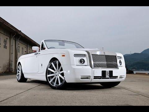 Rolls Royce Phantom Drophead Coupe on 22 Lexani Forged wheels