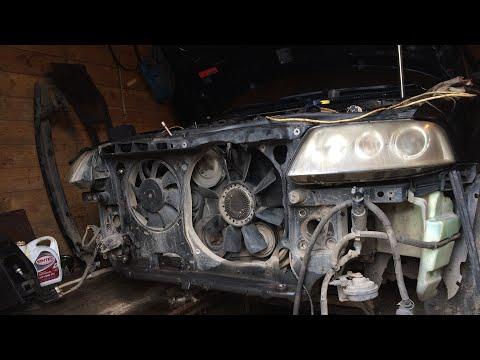 Радиатор на авто с АКПП  Passat B5+ небольшое ТО.