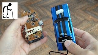 Another wired conversion of a cheap RC toy car