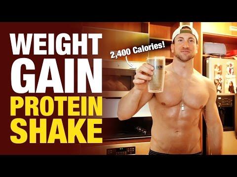 weight-gain-protein-shake:-2,400-calorie-peanut-butter-gorilla-mass-builder