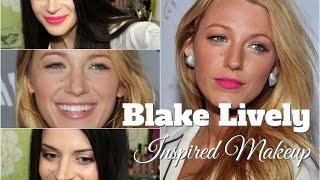 МАКИЯЖ в стиле BLAKE LIVELY/ Макияж для блондинок/ 2 варианта макияжа губ