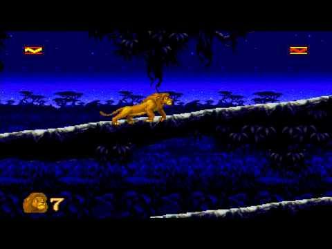 1994 The Lion King SEGA Genesis Old School retro game playthrough