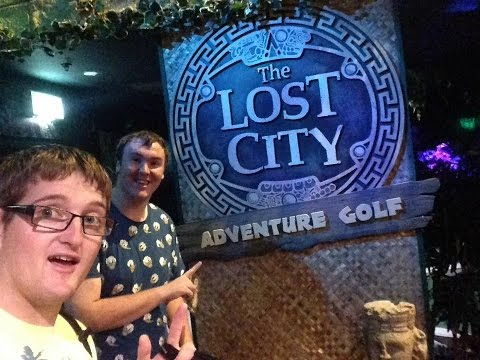 The Lost City Adventure Golf Nottingham Vlog September 2016
