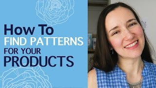 How to find vector repeat patterns for your commercial products. Best vector pattern sources online
