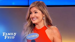 Women just can't get rid of THIS... | Family Feud