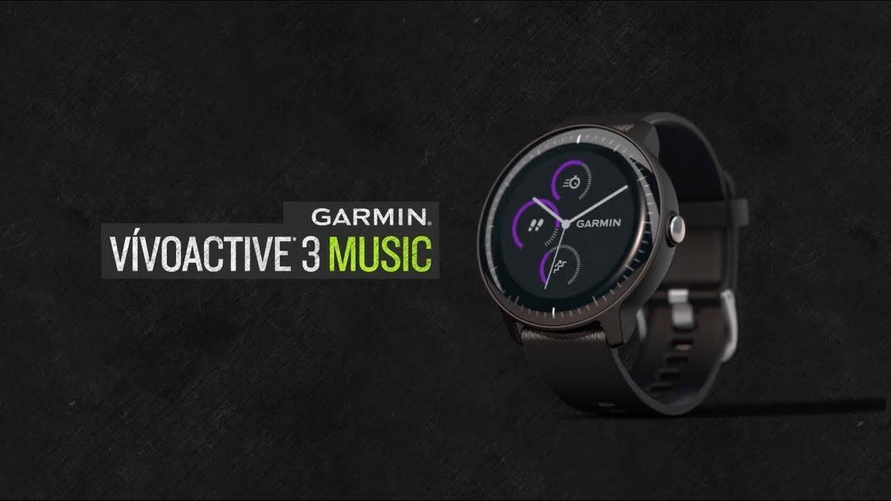 Garmin Vivoactive 3 Music Quartz // 010-01985-01 video thumbnail
