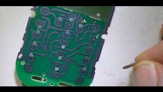 طريقة اصلاح عطل مفتاح الباور نوكيا nokia 220 power key ways