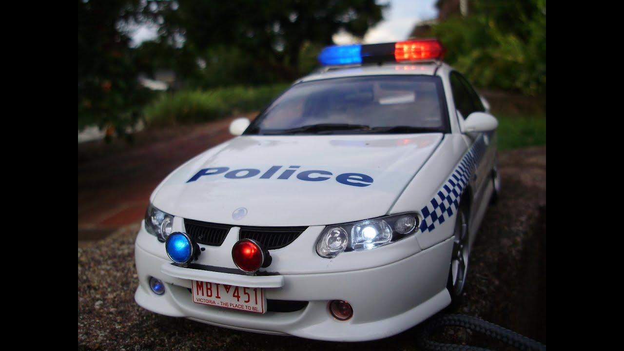Australian Ford Police Cars