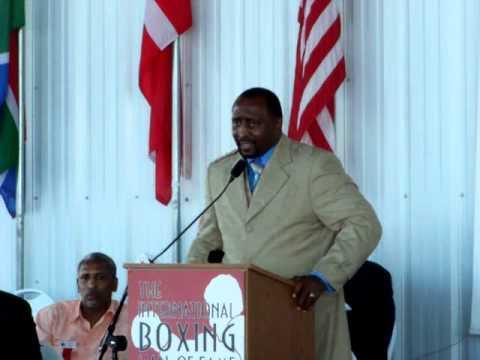 Thomas Hearns: 2012 International Boxing Hall Of Fame