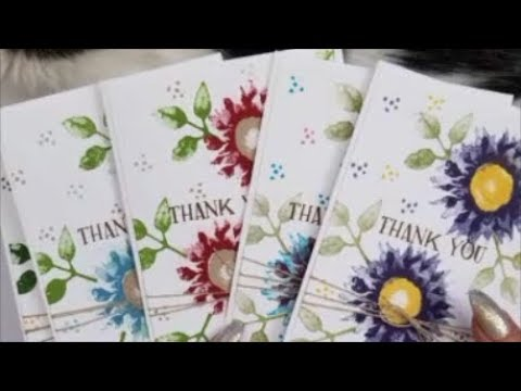 Painted Harvest Gift Card Set Case Card Class #209 Stampin'  Up! Stamps.