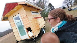 The ULTIMATE Mobile Chicken Coop 🐔 PART 2: Building the Coop