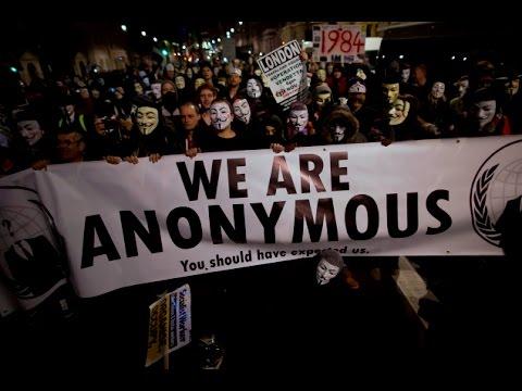 Anonymous les hackers masqués du net