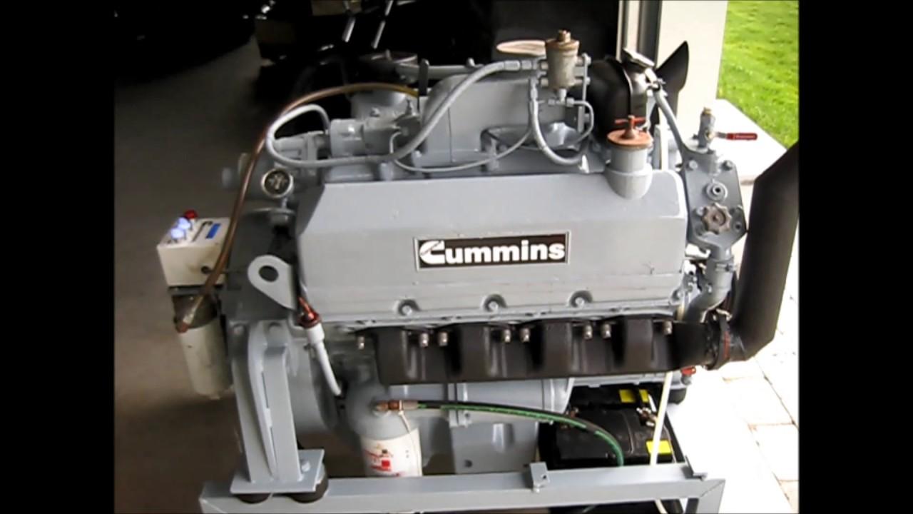 Cummins Diesel Engines >> V8 Diesel Cummins V504C 210 - YouTube