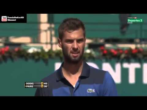 Dodig vs Paire - Masters MONTECARLO 2013 (R1) - Part1 Full Match HD