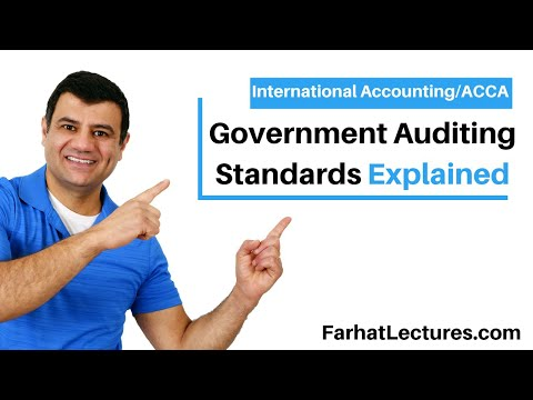 Government Auditing Standards - Yellow Book Course | Governmental Accounting | CPA Exam FAR