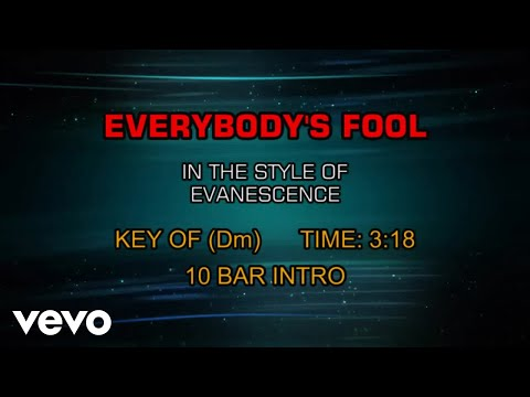 Evanescence - Everybody's Fool (Karaoke)
