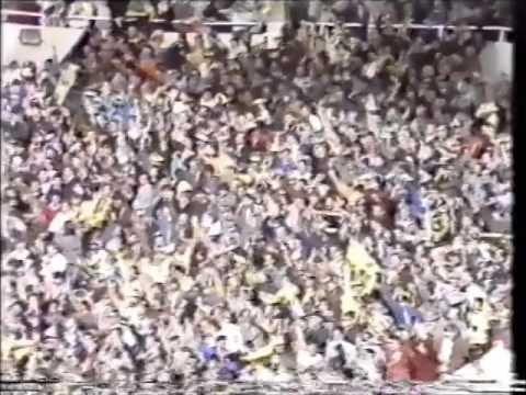 OXFORD UNITED v QPR: Milk Cup Final Wembley 1986 - Second Half