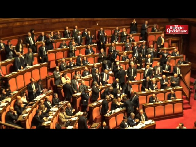 Senato salva Augusto Minzolini. L'esultanza di FI dopo la decadenza bocciata