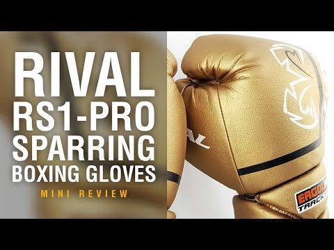 Rival Pro Boxing gloves 2.0 RS1 Ultra  Sparring Gold