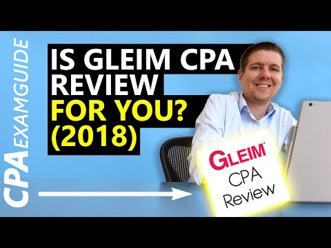 UNBOXING: Gleim CPA Review 2018 [Full Review] + DISCOUNT