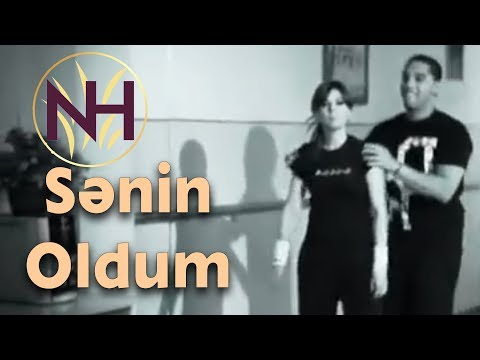 Natavan Hebibi - Senin oldum (Official Clip+lyrics)