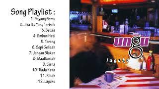"""Ungu full song album """"laguku"""" list 12 tracks 1. bayang semu (0:00) 2. jika itu yang terbaik (4:34) 3. bebas (9:46) 4. embun pagi (14:30) 5. terang (19:2..."""