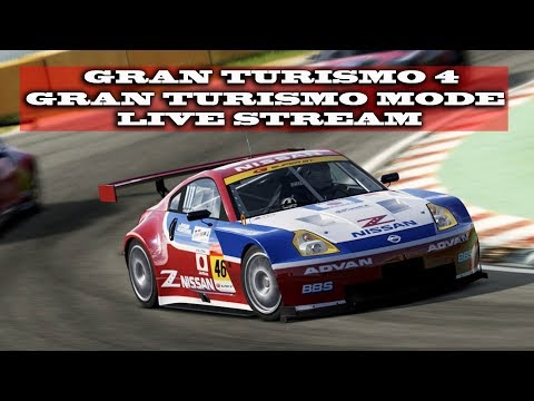 Gaming : Retro Gaming Gran Turismo 4 96.0%/ Formula Gt World Championship (pt 2) (Live Stream)
