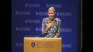 Elizabeth Smart Visits Johns Hopkins