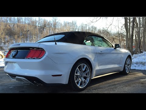 2015 Ford Mustang Gt Start Up And Review 50 Years Apperance
