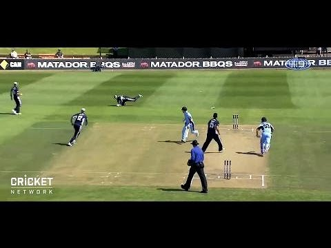 The greatest run-out ever by Matthew Wade?