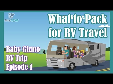 RV Camping Trip | Episode 1 | What to Pack!