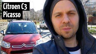 Обзор Citroen C3 Picasso.  Машина, которую поймут только французы.  Отзыв реального...