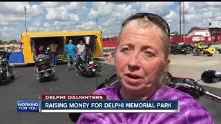 fundraiser held for delphi memorial park